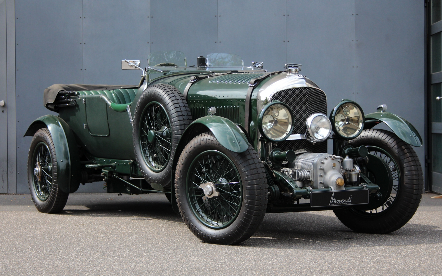Bentley  4 1/2 Litre Blower Vanden Plas Style
